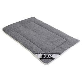 Rogz Hundematte Hundedecke Lounge Mat grau-schwarz