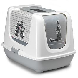 Moderna Toilettes pour chats TrendyCat Cats in Love