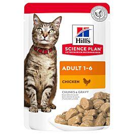 Hill's Katze Science Plan Adult Nassfutter Huhn