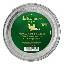 Harmony Cat Deluxe Délicatesse Huhn & Hering in Sauce