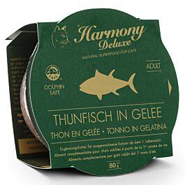 Harmony Cat Deluxe Cup Adult Thunfisch in Gelee Katzenfutter