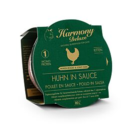 Harmony Cat Deluxe Cup Kitten Huhn in Sauce Immun-Boost & Care