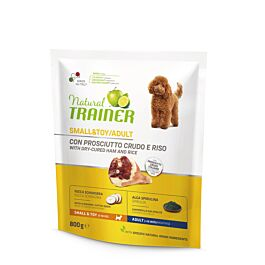 Trainer Nourriture pour chiens Natural Small & Toy Adult jambon cru