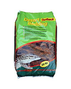 Lucky Reptile Desert Bedding Outback roter Sand 20l
