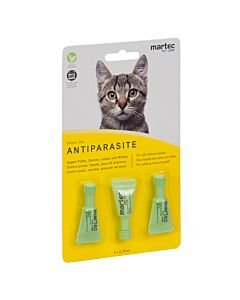 Martec Pet Care Drop on für Katzen 3 Pipetten à 0.75ml