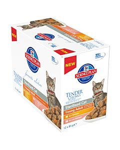 Hill's Science Plan Feline Sterelised Multipack 12x85g