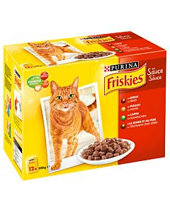 Friskies Adult in Sauce 12x100g