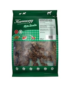 Harmony Alpin Snacks Collo Pollo 250g