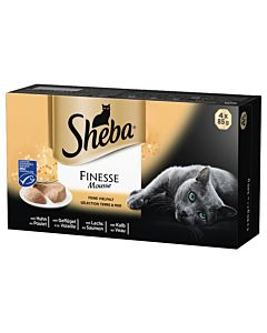 Sheba Finesse Mousse Land & Meer 4x85g