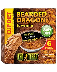 Exo Terra Diet Cup Bearded Dragon Juvenile 150g