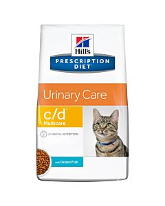 Hill's Prescription Diet Feline c/d Multicare Urinary Fisch 5kg