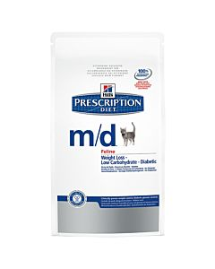 Hill's Prescription Diet Feline m/d Weight Loss Diabetic 5kg