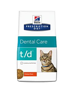 Hill's Prescription Diet Feline t/d Dental Health 5kg