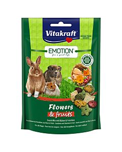 Vitakraft Emotion Flowers Red 70g