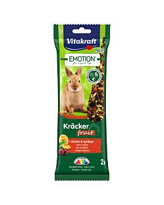 Vitakraft Emotion Kräcker Fruit Zwergkaninchen 2 Stk.