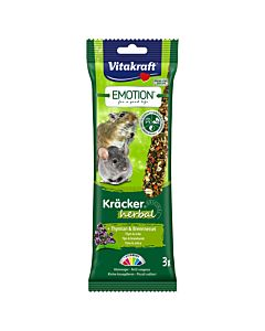 Vitakraft Emotion Kräcker Herbal Kleinnager 3er