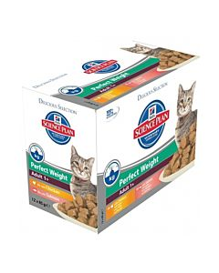 Hill's Feline Multipack Adult Perfect Weight Mix