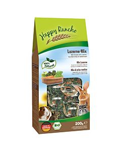 Happy Rancho BIO Nagersnack Luzerne-Mix 200g