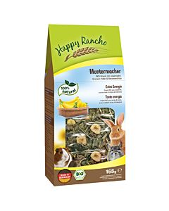 Happy Rancho BIO Nagersnack Muntermacher 165g