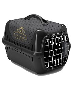 Luxurious Pets Transportbox Trendy Runner 31x51x34cm