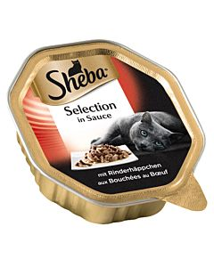 Sheba Selection in Sauce mit Rind 85g