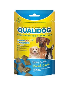 QUALIDOG Daily Snack Oral Care mit Huhn 50g