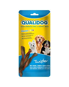 QUALIDOG Dog Twister 4 Stk 80g
