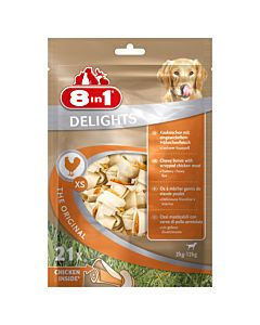 8in1 Delights paquet XS à 21 pcs.