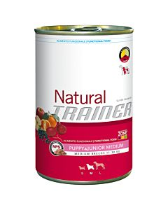 Trainer NATURAL WET Medium Puppy & Junior 400g