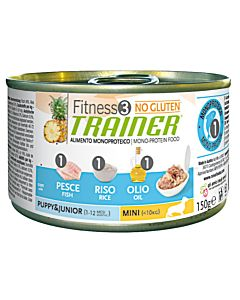 Trainer FITNESS 3 Puppy, Junior, Medium & Maxi Fish & Rice 400g