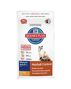 Hill's Science Plan Feline Mature Senior 7+ Hairball Control 1.5kg