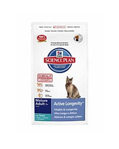 Hill's Science Plan Feline Mature Senior 7+ Thunfisch 2kg