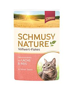 Schmusy Nature Lachs & Reis 100g in Sauce