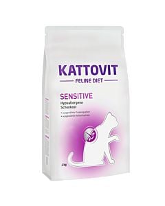 Kattovit Sensitive 4kg Feline Diet