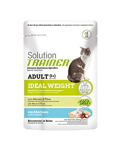 Trainer Solution Adult Ideal Weight mit Kabeljau 85g