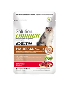 Trainer Solution Adult Hairball mit Rind 85g