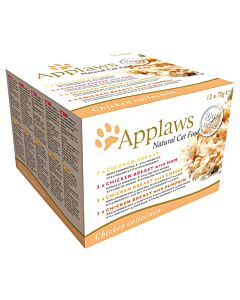 Applaws Chicken Selection Multip 12x70g
