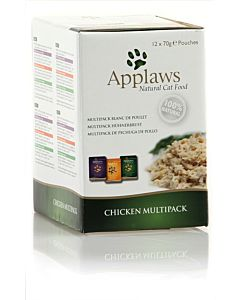 Applaws Chicken Multi Pack 12x70g
