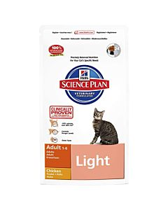 Hill's Science Plan Feline Adult Light Huhn