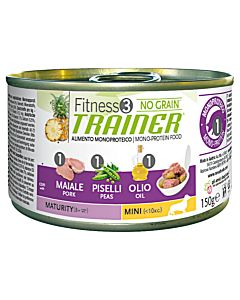 Trainer FITNESS 3 WET Maturity Mini Pork & Peas