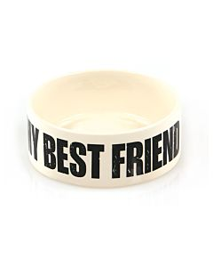 swisspet Keramiknapf MY BEST FRIEND beige