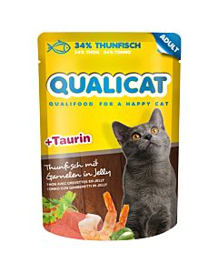 QUALICAT Thunfisch Adult 80g Beutel