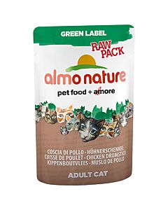 Almo Nature Green Label Raw Pack 55g