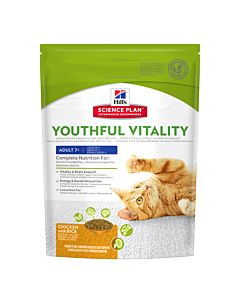 Hill's Katze Science Plan Youthful Vitality Adult 7+ Huhn & Reis