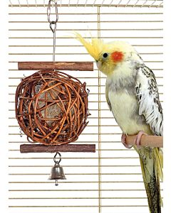 Wooden Bird Ball