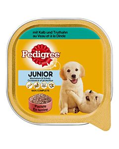 Pedigree Junior mit Kalb & Truthahn