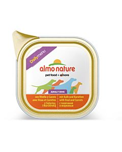 Almo Nature Daily Adult Kalb & Karotten