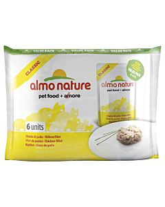 Almo Nature Classic Adult Multipack 6x55g