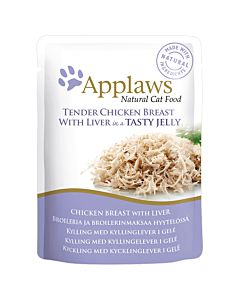 Applaws Pouch Chicken in Jelly 70g