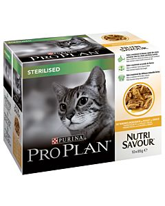 Pro Plan Cat Nutrisavour Sterilised Huhn